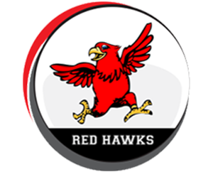 Red Hawk Elementary School logo